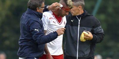 Así fue la escalofriante lesión de Jérémy Ménez Foto:AFP