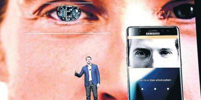Abre los ojos: El nuevo Samsung Galaxy Note 7