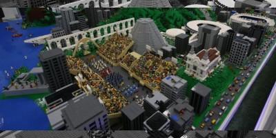 Río cae bajo el hechizo de Lego