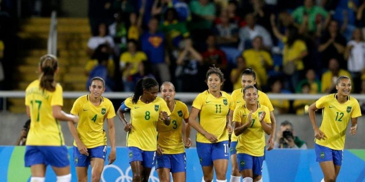 Brasil venció 3-0 a China en su estreno por los JJ.OO. en el Fútbol femenino