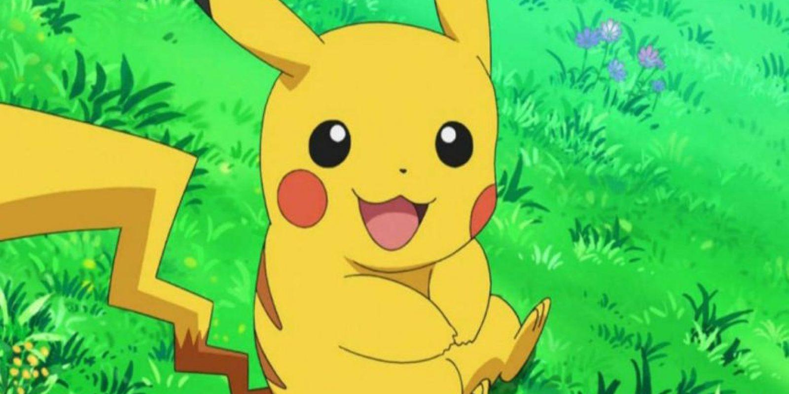Pikachu sí está en nuestra región. Foto:Pokémon