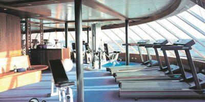 Las instalaciones del crucero por dentro. Foto:EFE
