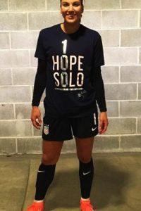 Hope Solo (Fútbol / Estados Unidos) Foto:Instagram