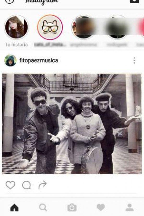 "Así se ve ""Historias de Instagram"" Foto:Instagram"