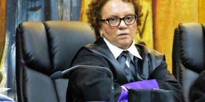 Jueza de Suprema Corte de Justicia se solidariza con reclamos de compañeros