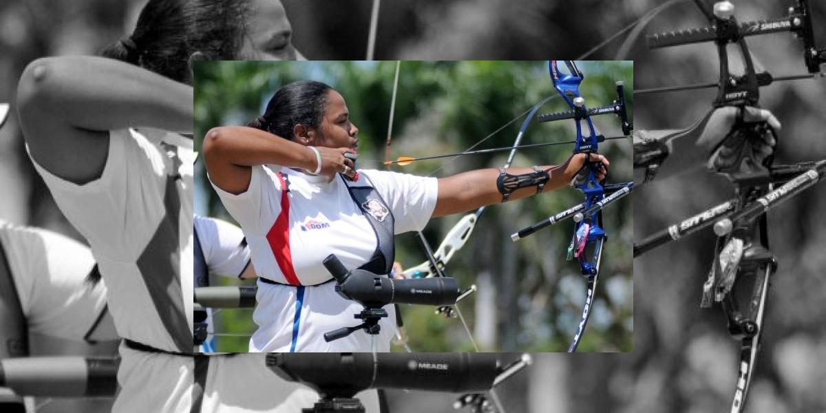 La arquera dominicana Yessica Camilo fue eliminada en Juegos Olímpicos
