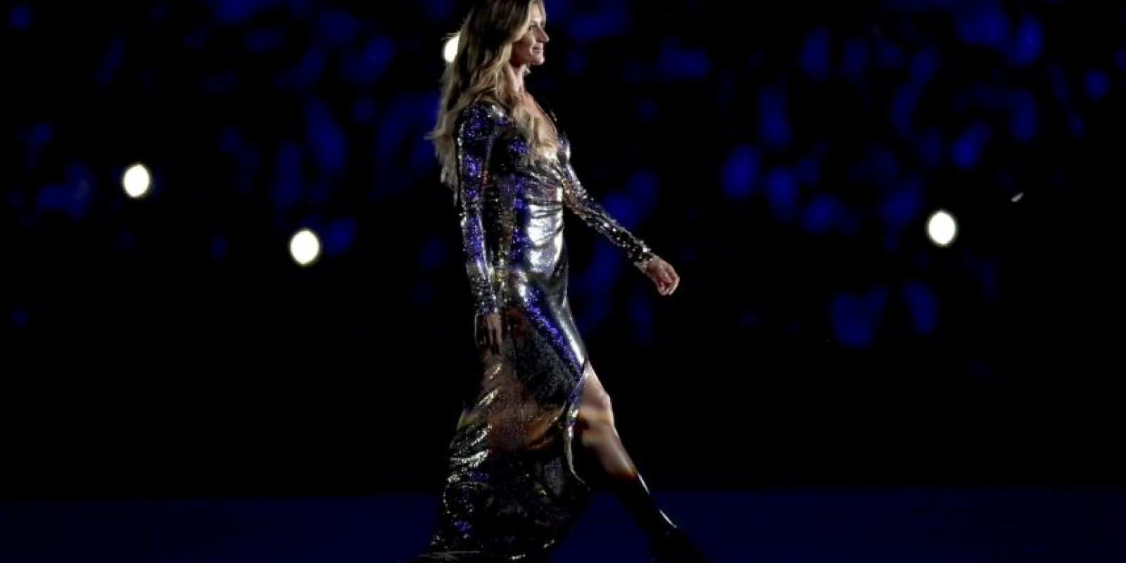 Las mejores imágenes de Gisele Bünchen en la inauguración de los Juegos Olímpicos de Río 2016 Foto:Getty Images
