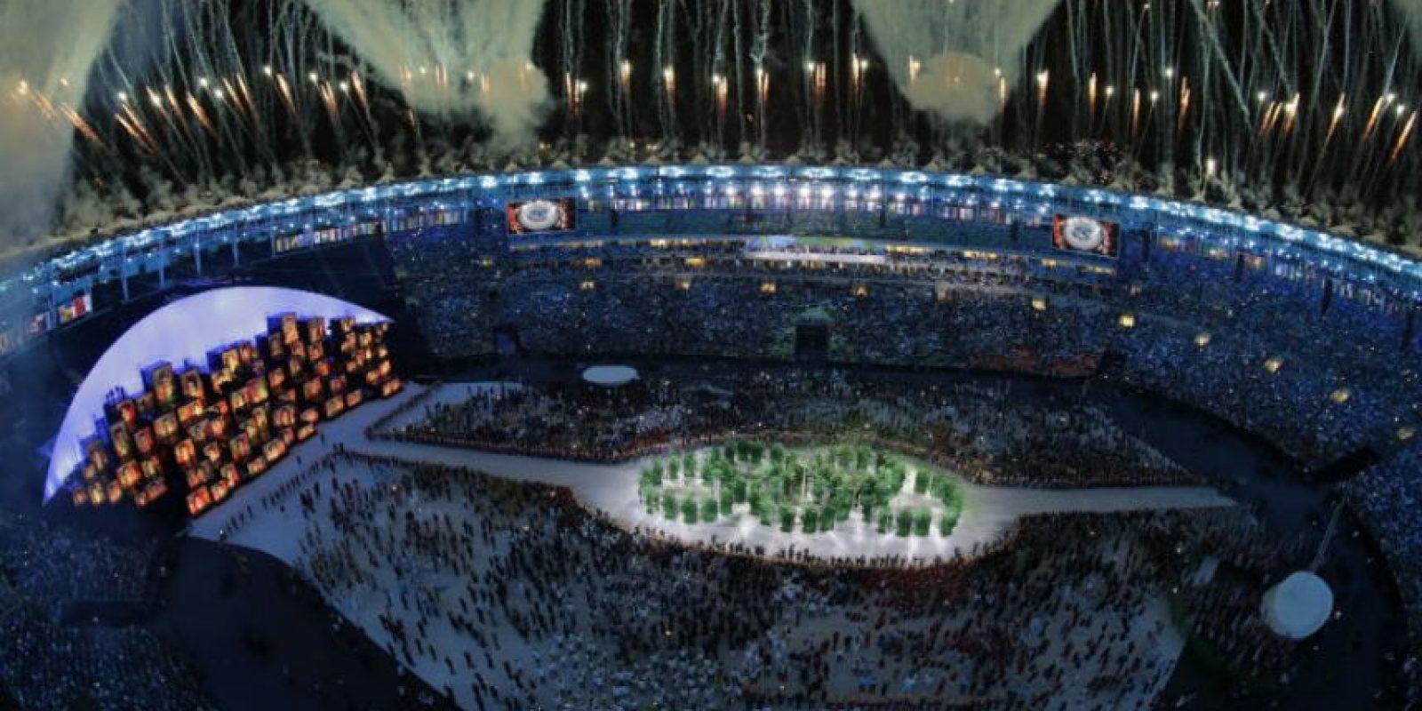 Lo mejor de la inauguración de los Juegos Olímpicos de Río 2016: Todas las delegaciones reunidas como una sola Foto:Getty Images
