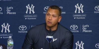 Entre lágrimas, A-Rod anuncia su adiós del béisbol
