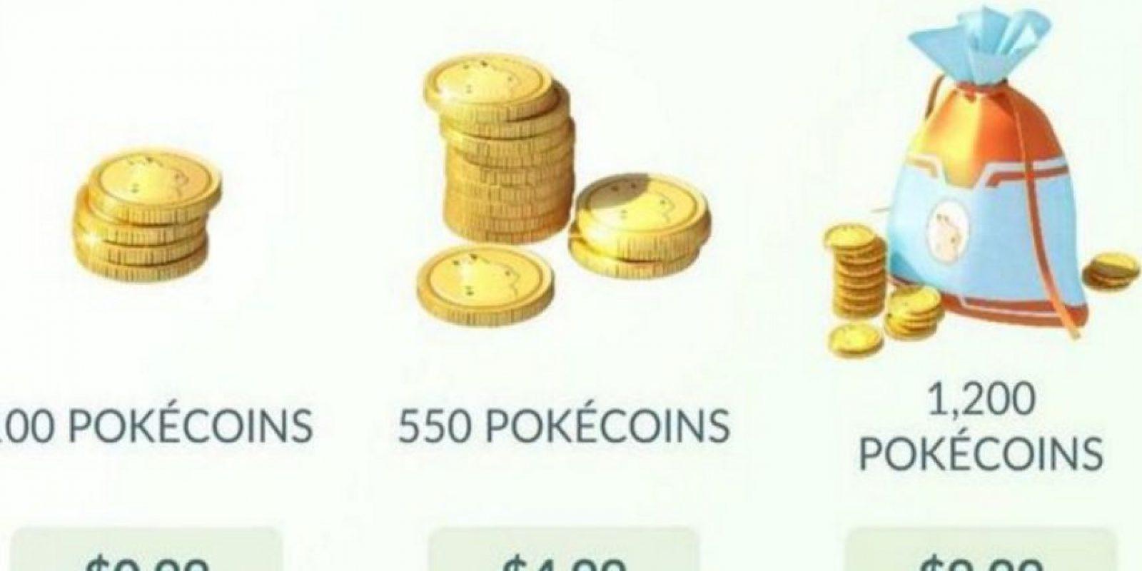 Estos precios están en dólares. Foto:Pokémon Go