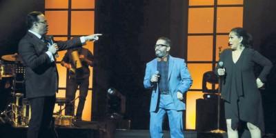 Gilberto invitó a Pavel Núñez y Maridalia Hernández