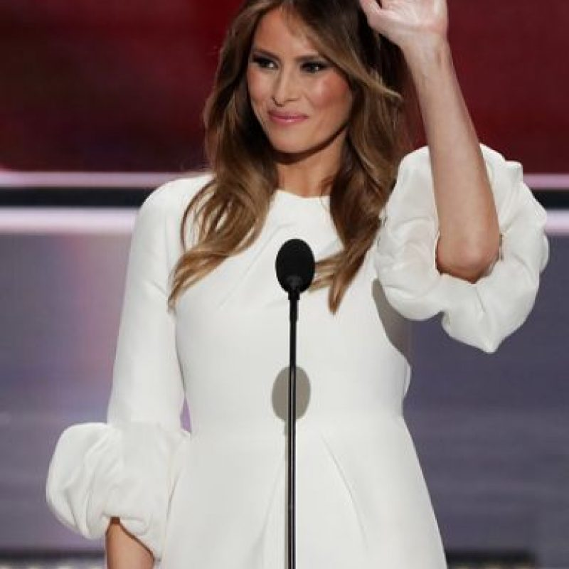 Entre sus más recientes escándalos está el protagonizado por Melania Trump Foto:Getty Images