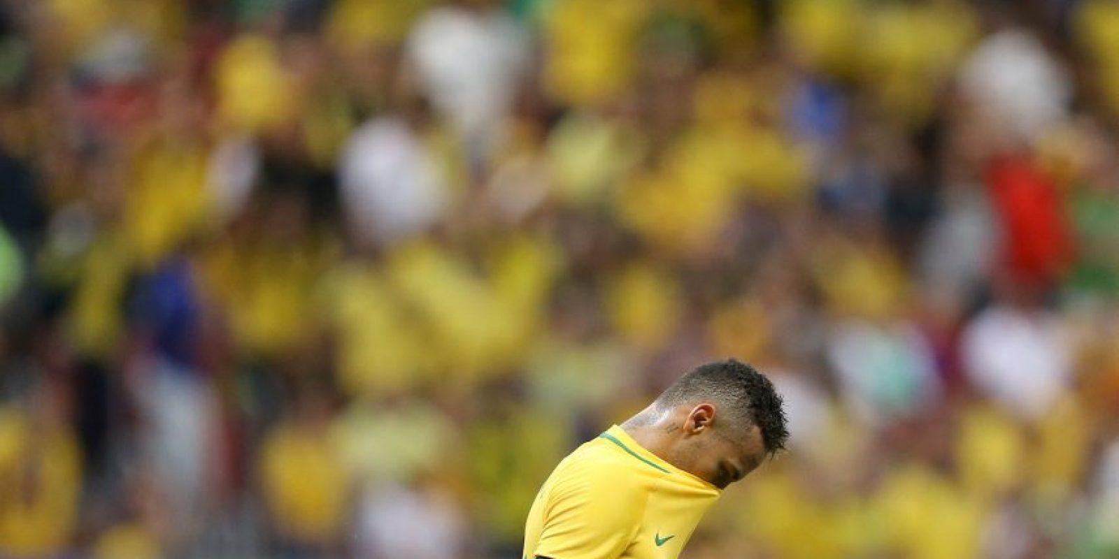 Brasil sigue decepcionando en fútbol Foto:Getty Images