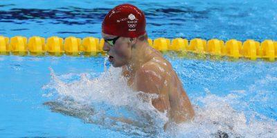 Adam Peaty sólo pareció competir contra su propio récord y los otros nadadores poco pudieron hacer para arrebatarle el oro en los cien metros braza Foto:Getty Images