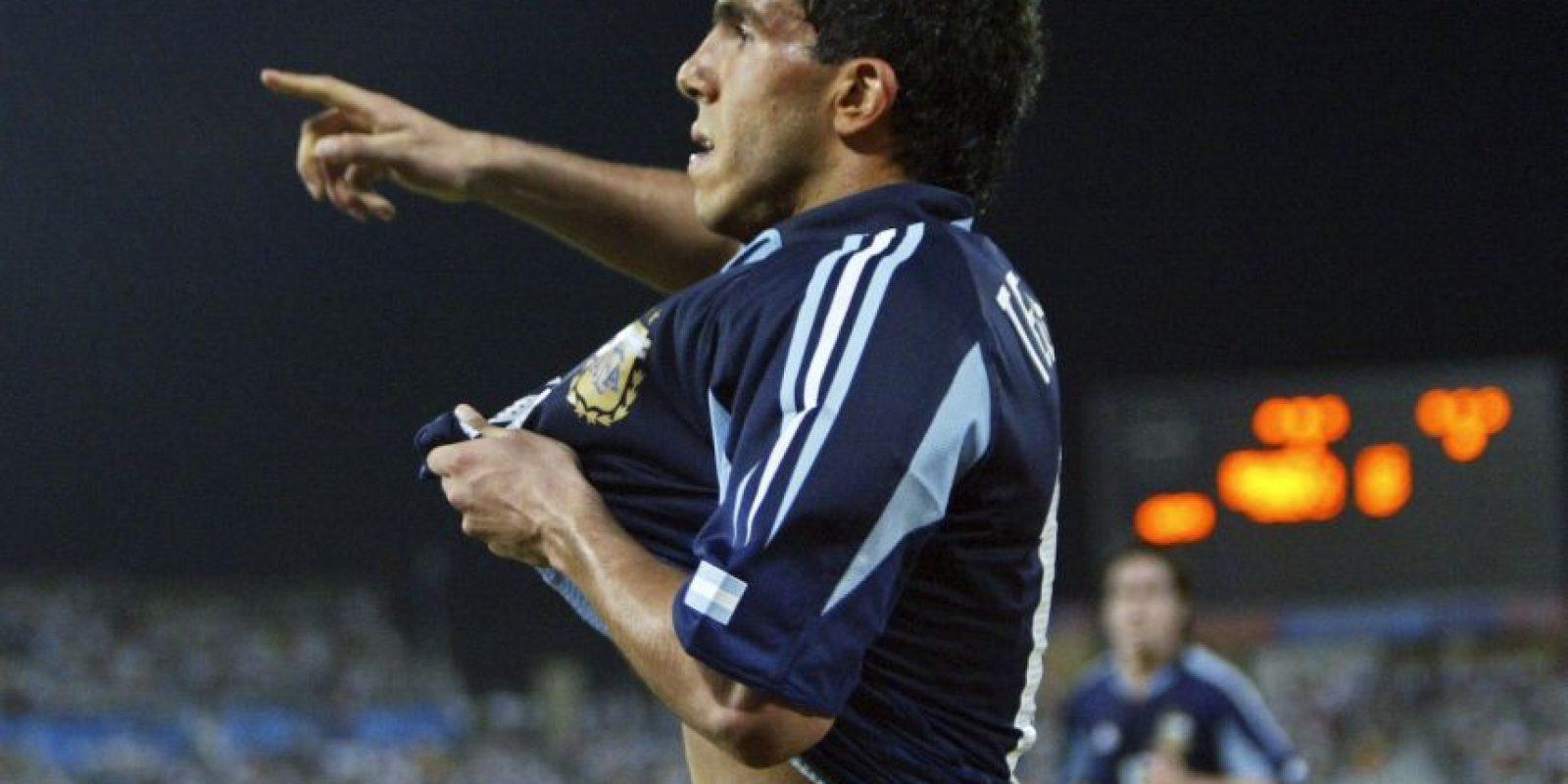 Atenas 2004: Carlos Tevez (Argentina) – 8 goles, 6 partidos Foto:Getty Images