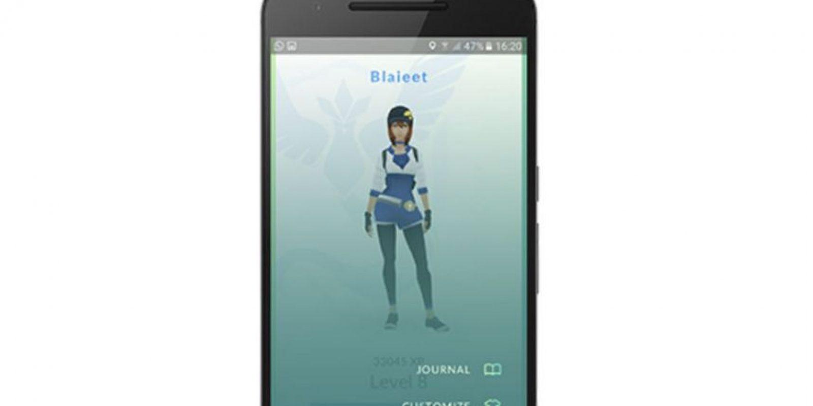 2. Ahora se puede cambiar el apodo del jugador una vez. Solo una vez, así que escojan con cuidado. Foto:Niantic/Nintendo