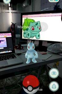 En un momento en que no se creía posible hacer un juego de realidad aumentada. Foto:Pokémon Go
