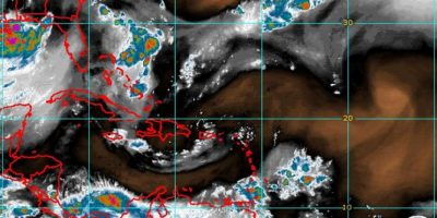 Vaguada sobre el país y onda tropical sobre Puerto Rico traerán chubascos