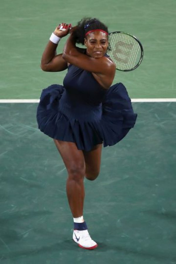 5. Serena Williams se fue del torneo de tenis en la primera fase Foto: Getty Images