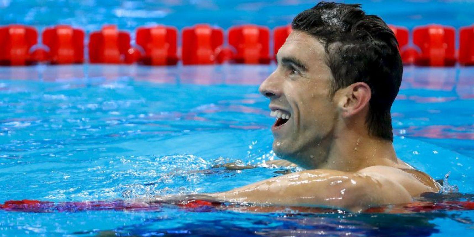 Michael Phelps suma 21 medallas de oro en los cinco Juegos Olímpicos que ha competido Foto:Getty Images