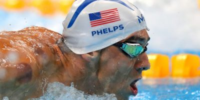 Se convirtió en el primer nadador en conseguir una medalla con más de 30 años en una competencia individual Foto:Getty Images