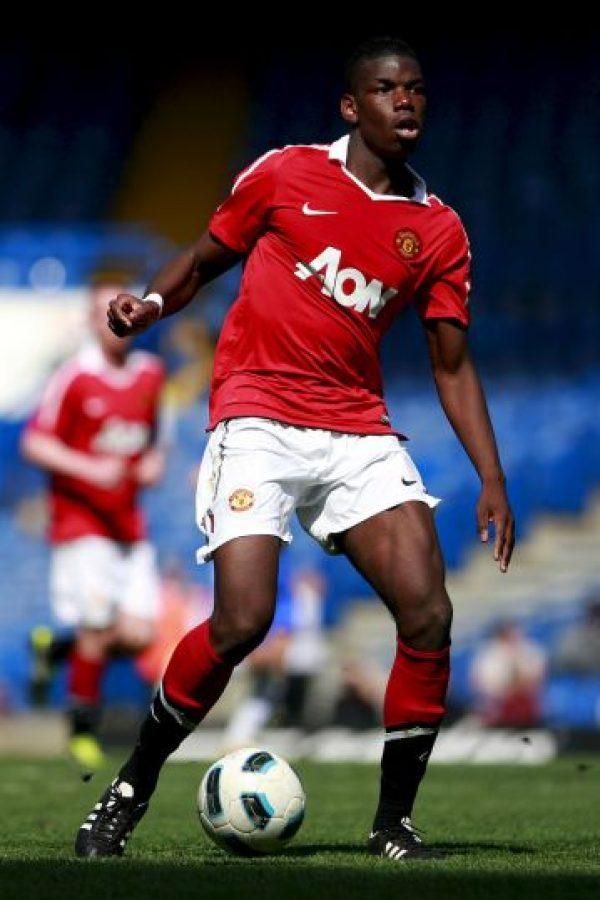 A nivel juvenil, Paul Pogba se consagró campeón de la FA Youth Cup Foto:Twitter