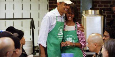 En diversas ocasiones, Barack Obama se ha sincerado sobre la vida de sus hijas Foto:Getty Images