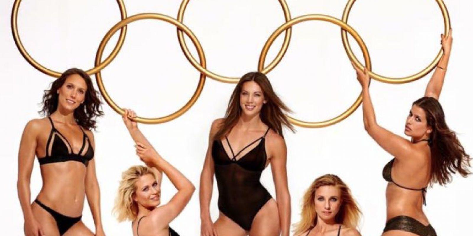 5 atletas alemanas se desnudan para Playboy Foto:Playboy