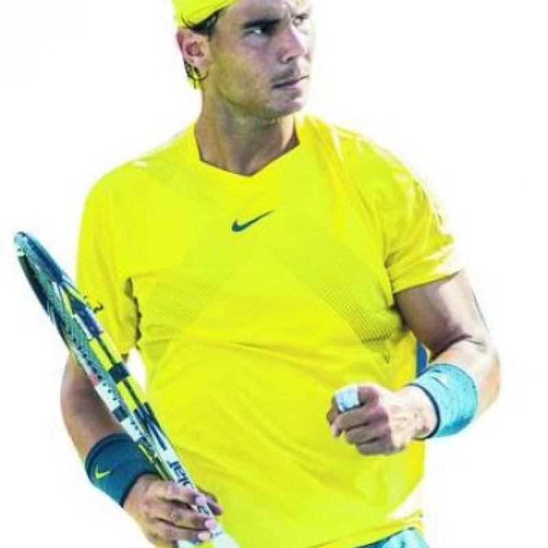 """7- Rafel Nadal. Ganador de 14 torneos de Grand Slam. Este tenista español, ex número uno del mundo y quinto en la clasificación actual de la ATP, es una de las principales figuras de """"mano equivocada"""" en el deporte. Ganador de 786 partidos en su carrera profesional, Nadal es el único tenista español que ha ganado la medalla de oro en unos Juegos Olímpicos, la cual logró en los celebrados en Pekín en 2008, algo que quiere repetir ahora en Río de Janeiro. Foto:Fuente externa"""