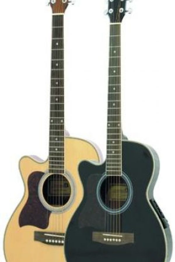 """8- Guitarra. Numerosos estudios afirman que las personas zurdas son más creativas que las diestras, y una de las formas más frecuentes de demostrarlo es a través de la música. Pero, una vez más está el obstáculo que los instrumentos no fueron pensados para ellos y la guitarra es un vivo ejemplo. Afamadas casas como Gibson o Fender ofrecen modelos con una curvatura especial llamada """"cutaway"""" que hace posible amoldar la guitarra al lado opuesto. Foto:Fuente externa"""
