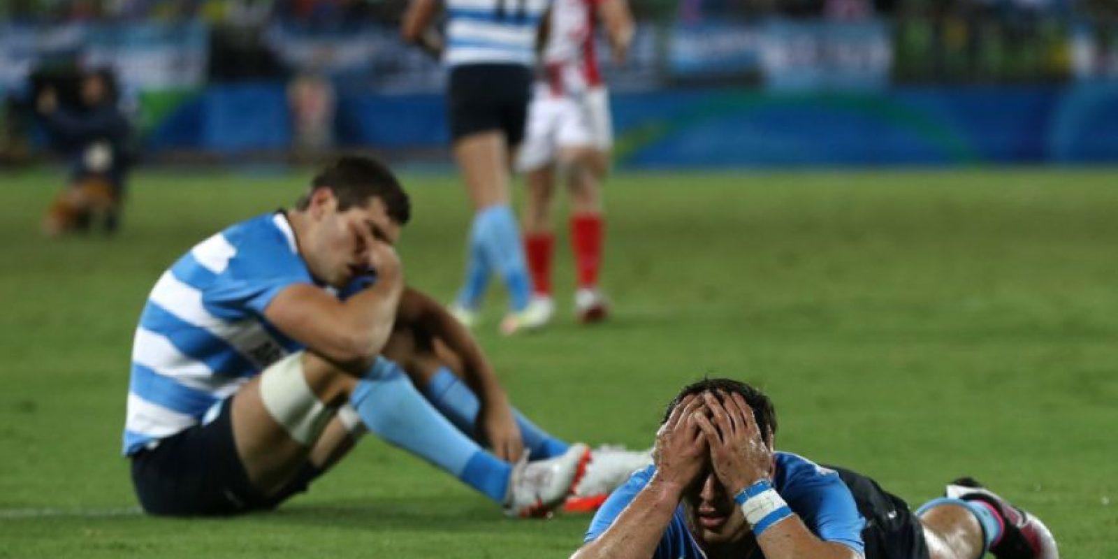 Argentina, derrotado en los cuartos de final de rugby seven Foto:Getty Images