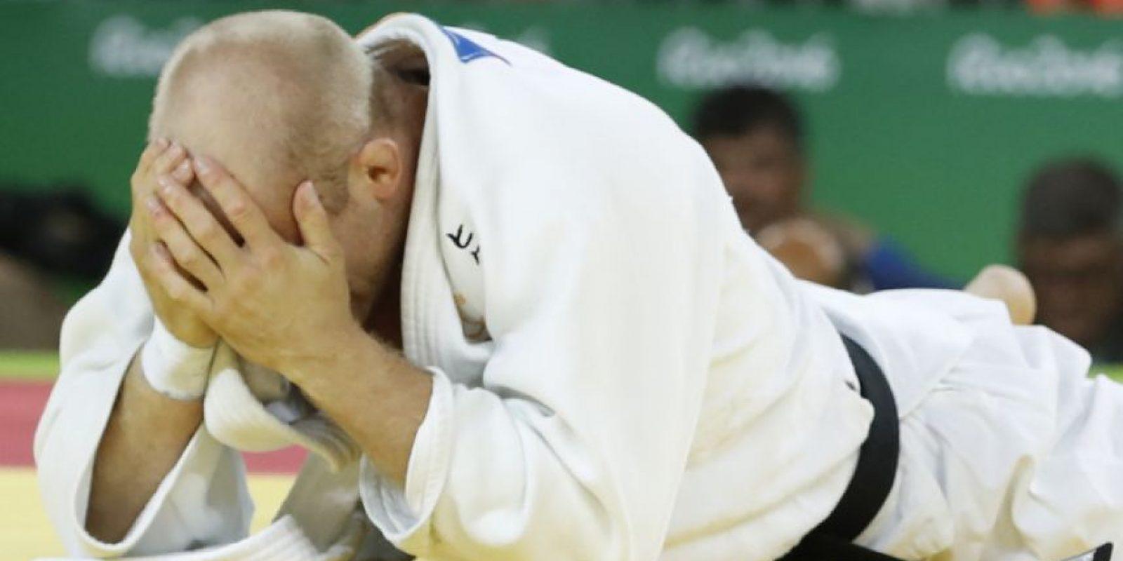 El judoca sueco Marcus Nyman Foto:Ines Boubakri