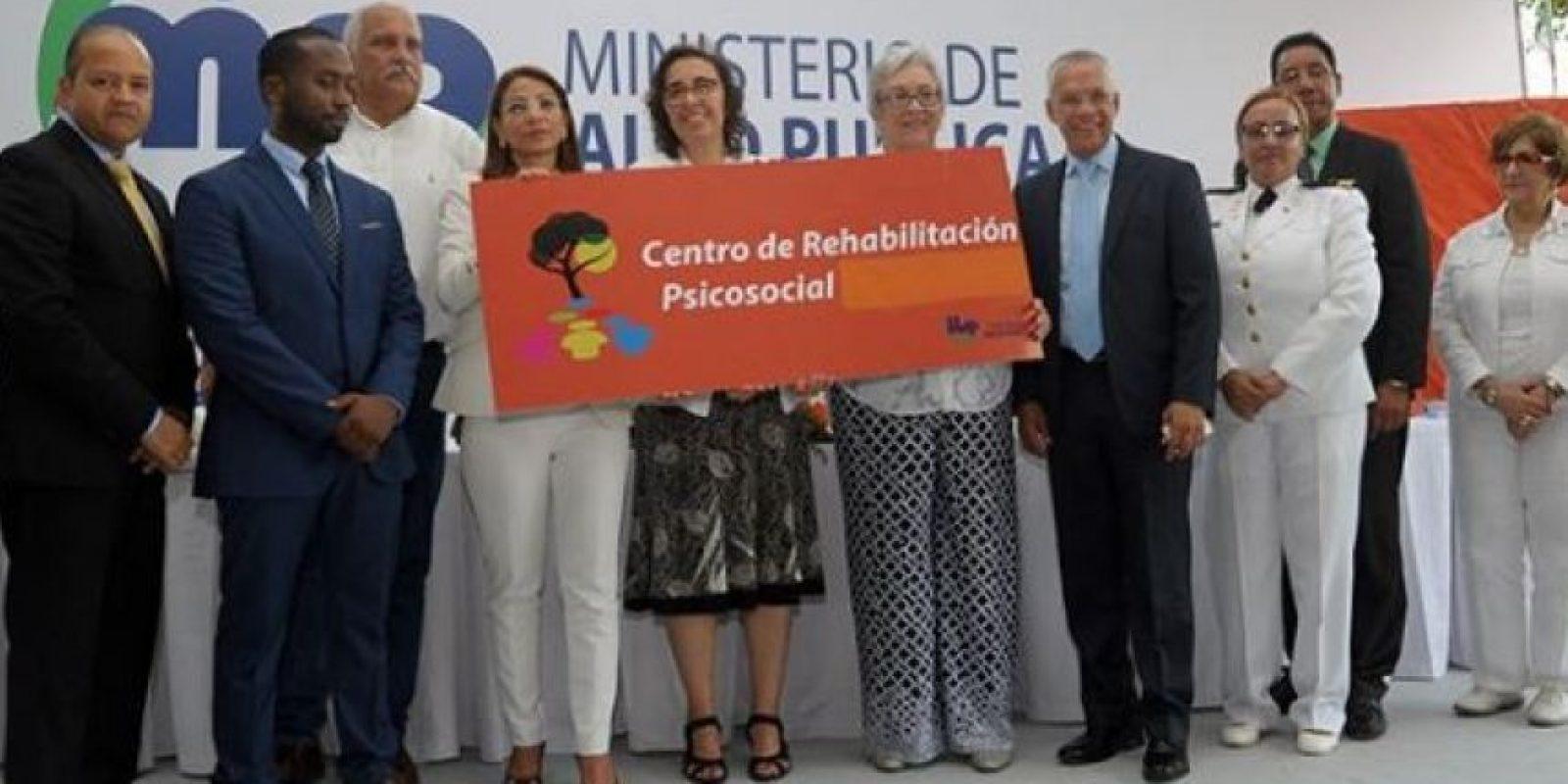 ]La ministra de Salud Pública, Altagracia Guzmán Marcelino, en el acto inaugural Foto:Ministerio de Salud Pública