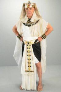 Zécarlos Machado es el Faraón Seti. Foto:Rede Record