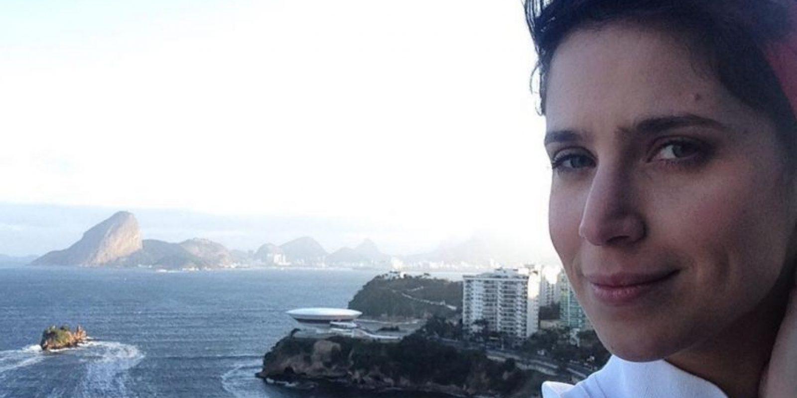"""Está casada y con dos hijos. Participó en """"La presencia de Anita"""". Foto:Instagram"""