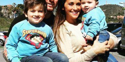 Miren los primeros pasos del hijo de Leo Messi en cancha de fútbol