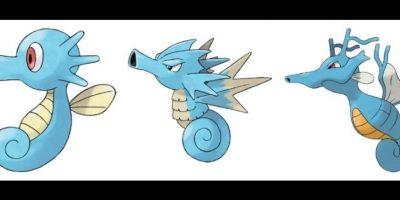 Horsea – Seedra – Kingdra. Foto:Pokémon / Nintendo