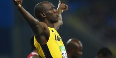 Usain Bolt es triple campeón olímpico en 100 metros
