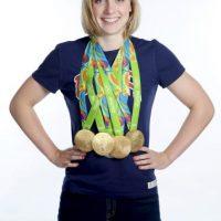 Katie Ledecky. La estadounidense terminó los 800 metros libres en 8:04.79 Foto:Getty Images