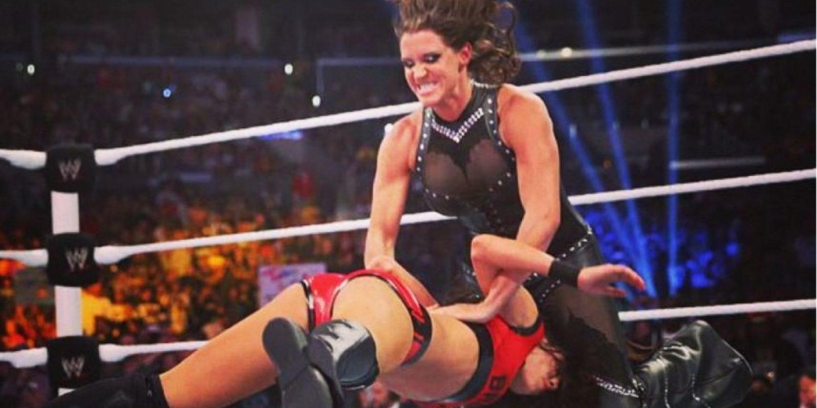 """Es la hija del """"Jefe"""" Vince McMahon Foto:WWE"""