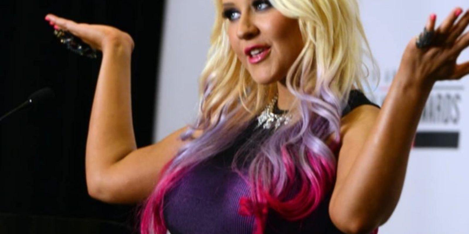 Christina Aguilera detesta comprar con sus fans cerca y se hace cerrar los locales para andar en paz. Foto:vía Getty Images