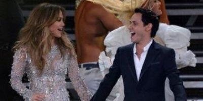 Marc Anthony y su esposa disfrutaron del show de Jennifer López