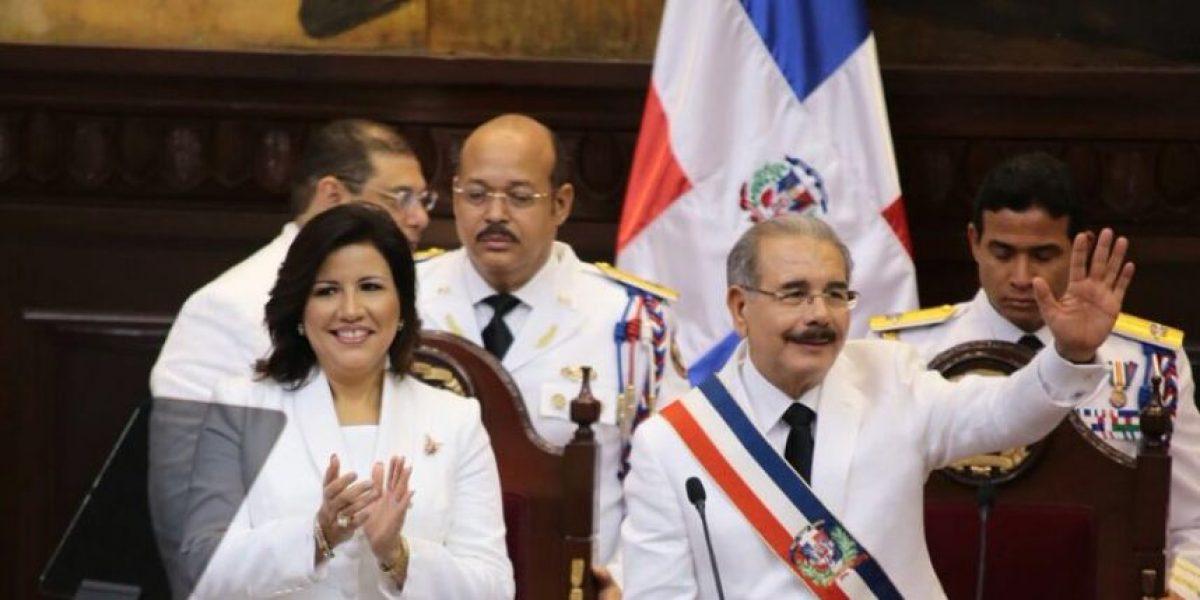 Discurso íntegro de la toma de posesión del segundo mandato de Danilo Medina