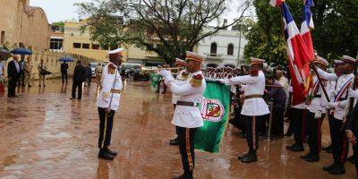 La lluvia acompañó al Tedewm en la catedral de Santo Domingo Foto:Presidencia RD