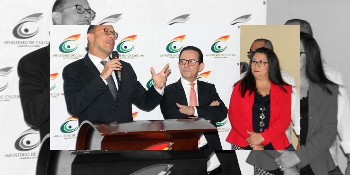 Cantautor José Antonio Rodríguez se despide del personal del Ministerio de Cultura