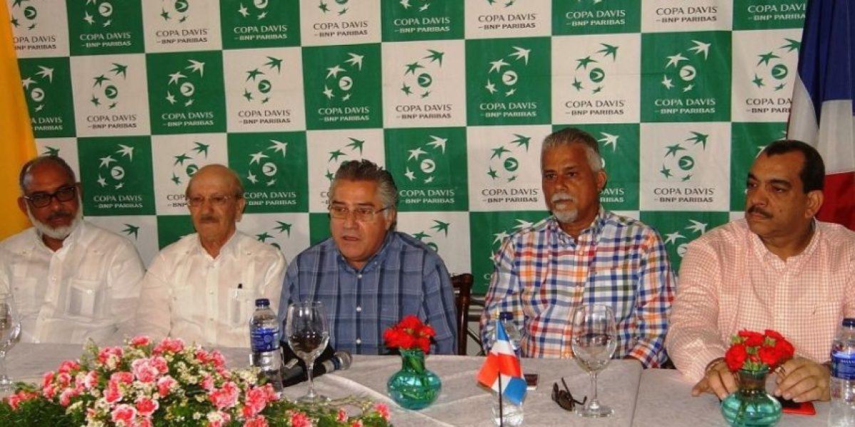 Centro Español será sede Copa Davis Dominicana-Colombia