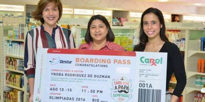 Carol premia cliente con viaje a Brasil