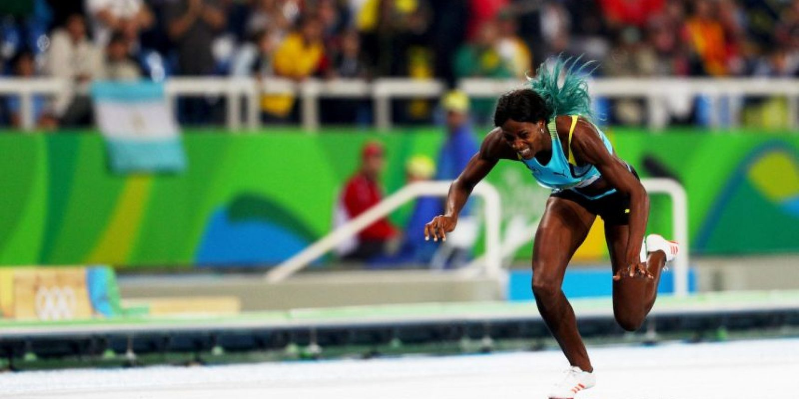 Y se llevó la medalla de oro Foto:Getty Images