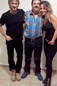 Sean Penn, Joaquín Guzmán y Kate del Castillo Foto:Twitter