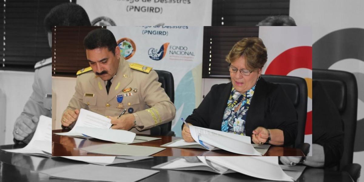 CNE y Onamet acuerdan fortalecer mitigación y respuesta ante desastres